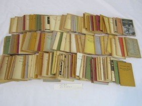 "C93-41  BOX LOT OF 154 ""LITTLE BLUE BOOKS"""
