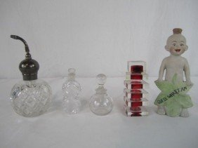 A44-144  LOT OF 5 ASSORTED PERFUMES