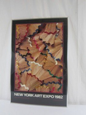 A5-2  NEW YORK ART EXPO 1982 POSTER