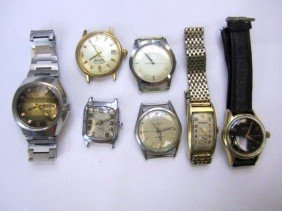 C78-28  LOT OF 7 WATCHES