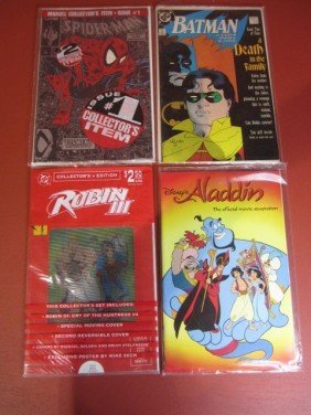 F34-2  LOT OF 4 COMIC BOOKS