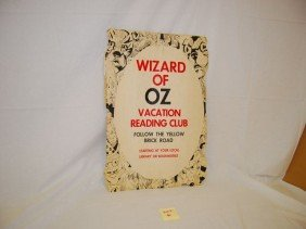 WIZARD OF OZ VACATION READING CLUB POSTER