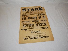 General Stark Matinee The Wizard Of Oz Poster