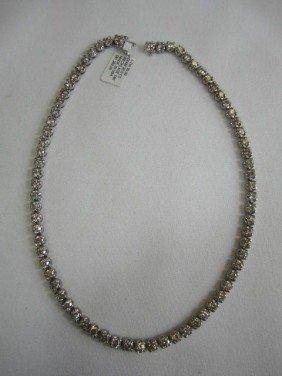 G22-2   14K DIAMOND NECKLACE