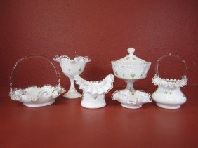 G20-4  LOT OF 6 GLASS ITEMS