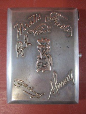 A45-17  RUSSIAN SILVER CIGARETTE CASE