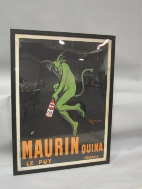 A45-1  LARGE FRENCH ADVERTISING POSTER