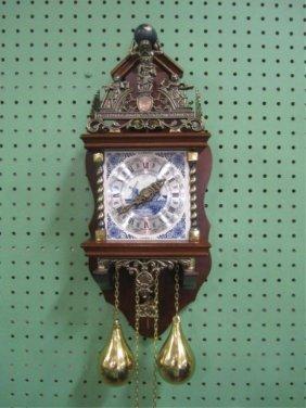 H21-2  DUTCH ZANZA CLOCK