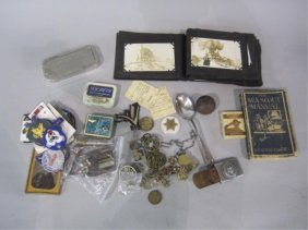 H29-6  COLLECTION OF MILITARY ITEMS