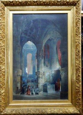 P. Fletcher Watson (1842-1907) Watercolor Painting