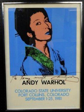 Andy Warhol (1928-1987) Portrait Of Kimiko Powers