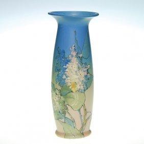 Weller Hudson Floral 11 7/8� Vase, Timberlake