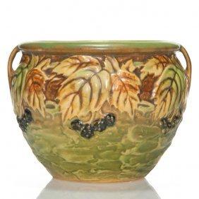"""Roseville Blackberry Vase, 623-4"""""""