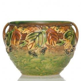 """Roseville Blackberry Vase, 623-5"""""""