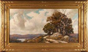 """Robert Emmett Owen O/c, Landscape, 20""""x40"""""""