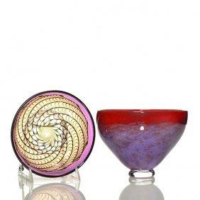2 Vases: E. Alexander (orient & Flume) + R. Heid