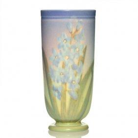 "Rookwood Vellum Vase, Shiri, 1943, 2194, 9 1/8"""