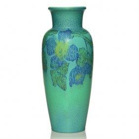 "Rookwood Mat Vase, Coyne, 1928, 2785, 13 1/4"""