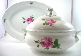 A Group Of Meissen Table Wares, Early 20th Century