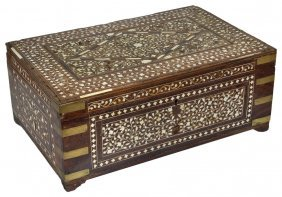 ˜a Hoshiarpur Work Box, Punjab, North-western India,