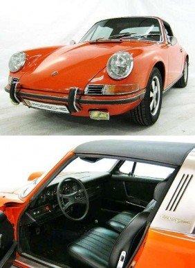 Porsche 911 2.2 S Targa With Matching Number
