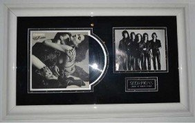 Scorpions' Framed Disc With Original Signatures And