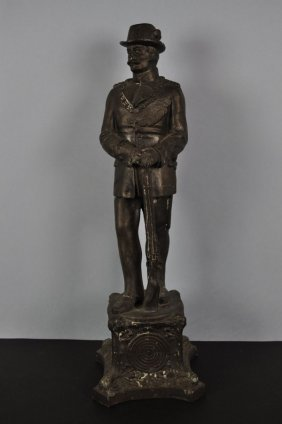 "Tin Cast Figure ""The Pointman"", German"