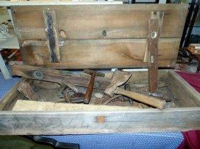 Wood Tool Box & Tools