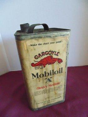 Mobil Oil Can Gargoyle