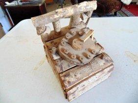 Folk Art Telephone