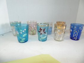 Victorian Glass Tumblers