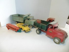 Steel Trucks Structo, Tonka & Others