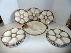Longway Oyster Plate Set