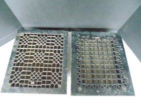 Black Cast Iron Grates