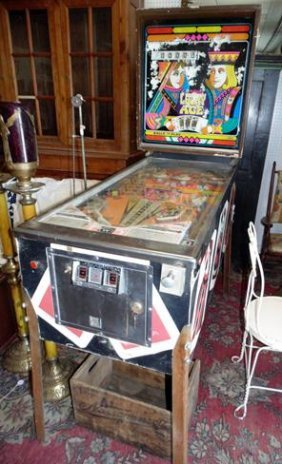 Lucky Aces Pinball Game Machine