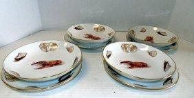 Set Of German Lobster Soup Bowls