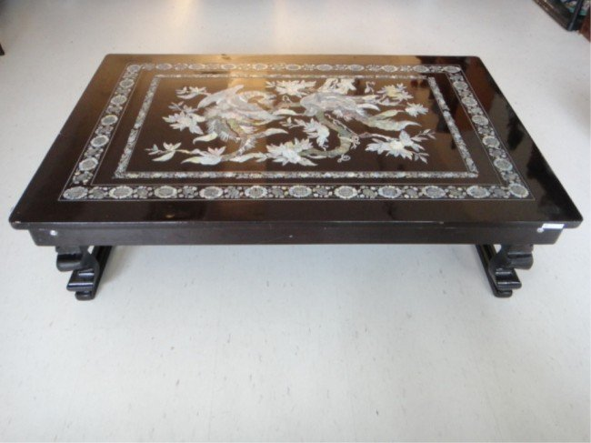 805 Korean Folding Table w Inlaid Mother of Pearl Lot 805 : 97079754l from www.liveauctioneers.com size 650 x 487 jpeg 47kB