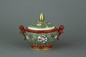 Chinese Famille Rose Porcelain Bowl Yongzheng Mk