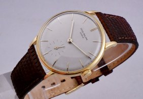 Patek Philippe Calatrava 18k Gold Ref. 3410 Watch