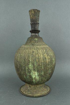 Mongolian Bronze Wine Pot 17/18th C.