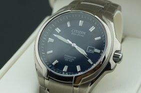 Citizen Men's Titanium Eco-drive Wrist Watch