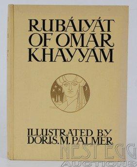 Rubaiyat Of Omar Khayyam. Illus. Doris Palmer