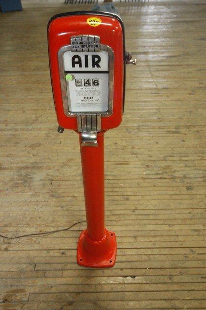 Eco Air Meter : Pedestal eco air meter orange lot