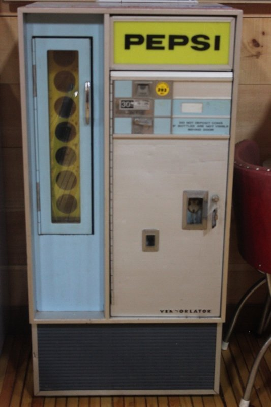 1960 pepsi machine
