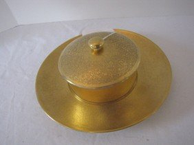Piccard Covered Dish W/ Under Plate