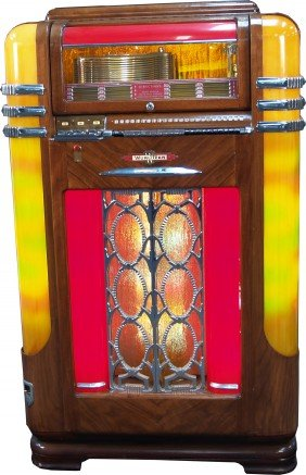 Wurlitzer Model 500A Jukebox C1938