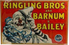 285 Lot Of 2 Circus Posters Ringling Bros Barnum Ba Lot 285