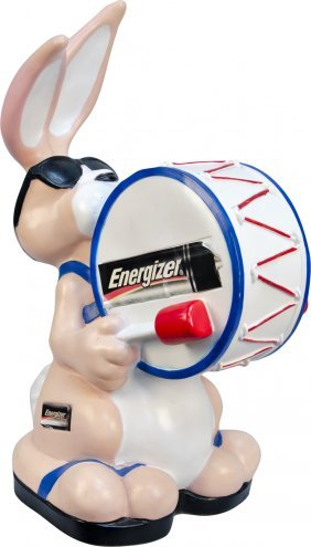 Energizer Batteries Bunny Plastic Figural Countert