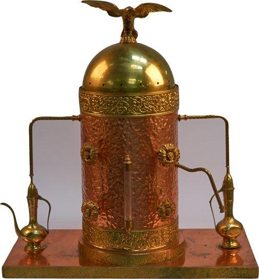 cappuccino machine copper