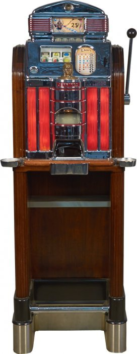 25 Cent O D Jennings Sun Chief Dunes Slot Machine Lot 366